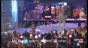Video: Lil kesh Takes Over At The Olamide Live In Concert #OLIC4